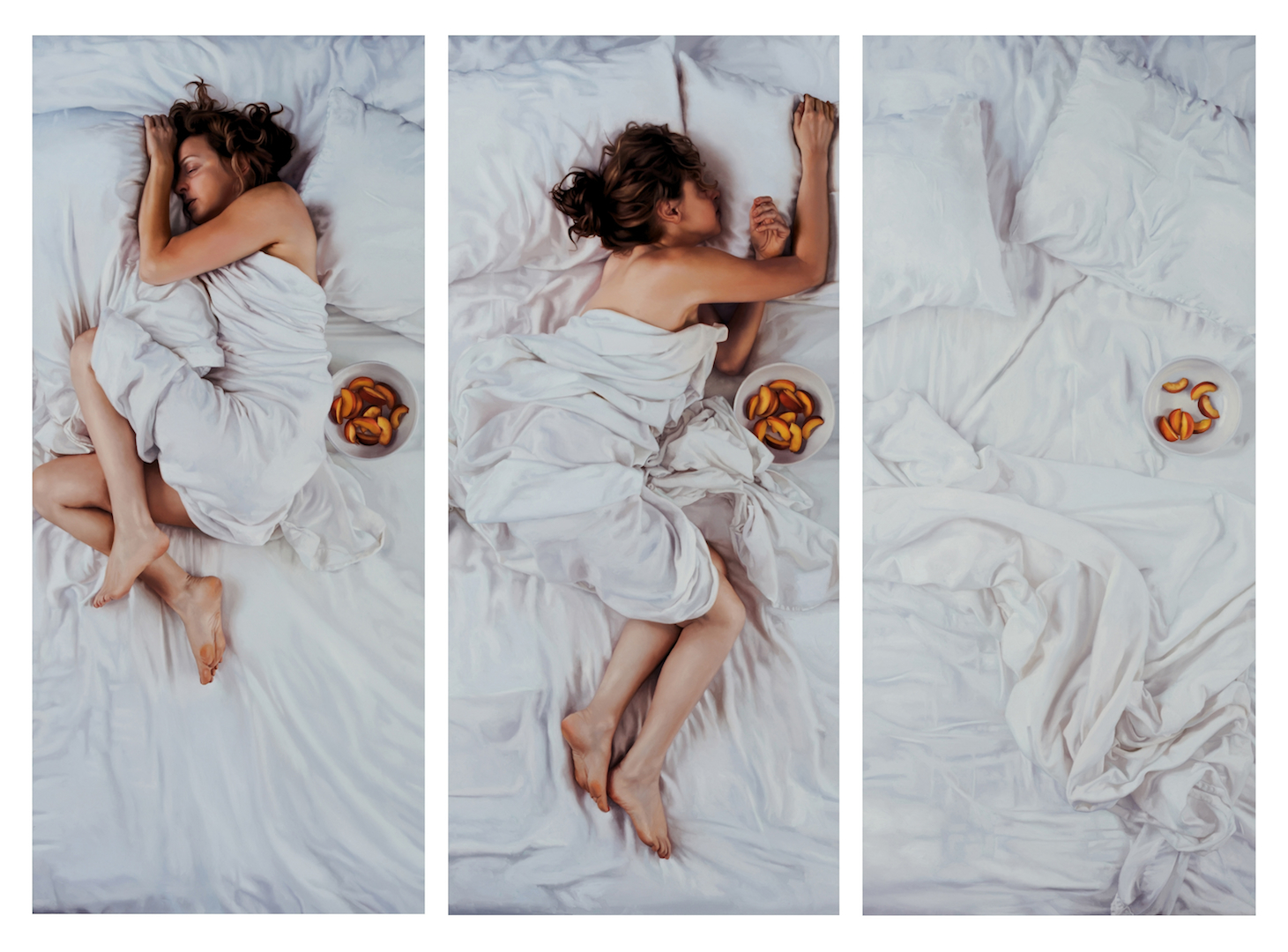 Lee Price, Sleeping with Peaches, 2011.