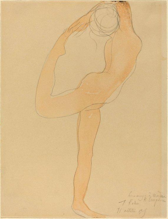 Auguste Rodin, Dancing Figure, 1905.