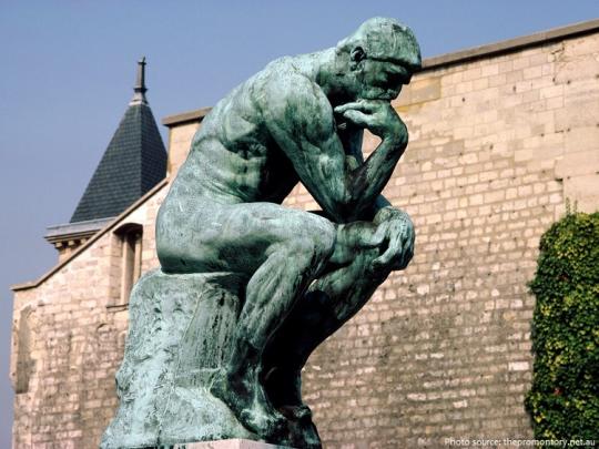 Rodin, The Thinker, 1904.