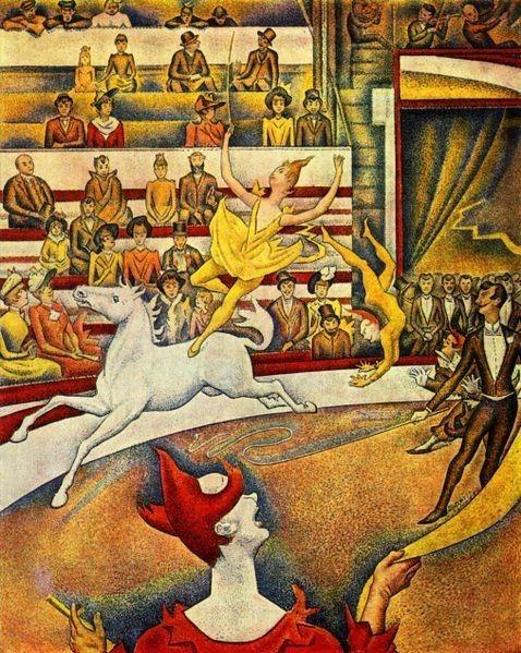 Seurat, The Circus, 1891