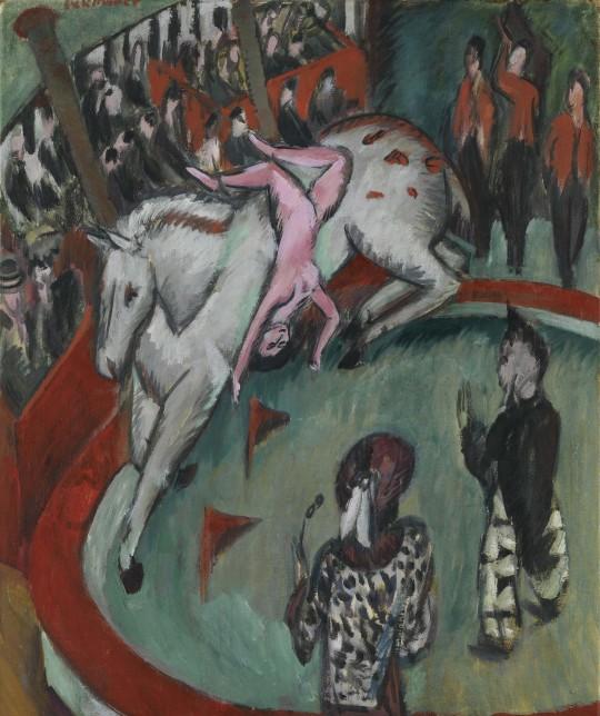Ernst Ludwig Kirchner, Circus, 1913