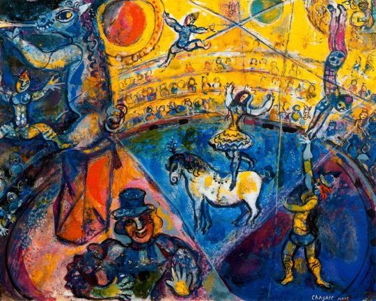 Marc Chagall, The Circus, 196