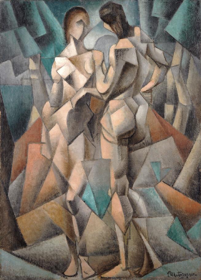 Jean Metzinger, Deux Nus, 1911