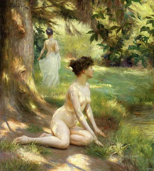 Julius Leblanc Stewart, 'Sunlight', 1919