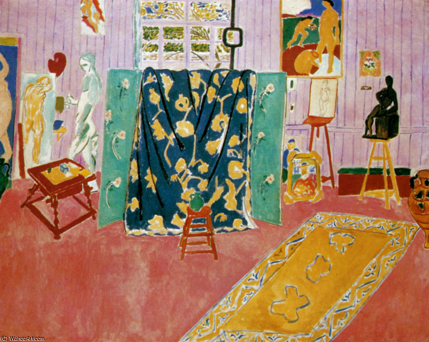 Matisse, 'The Pink Studio', 1911.