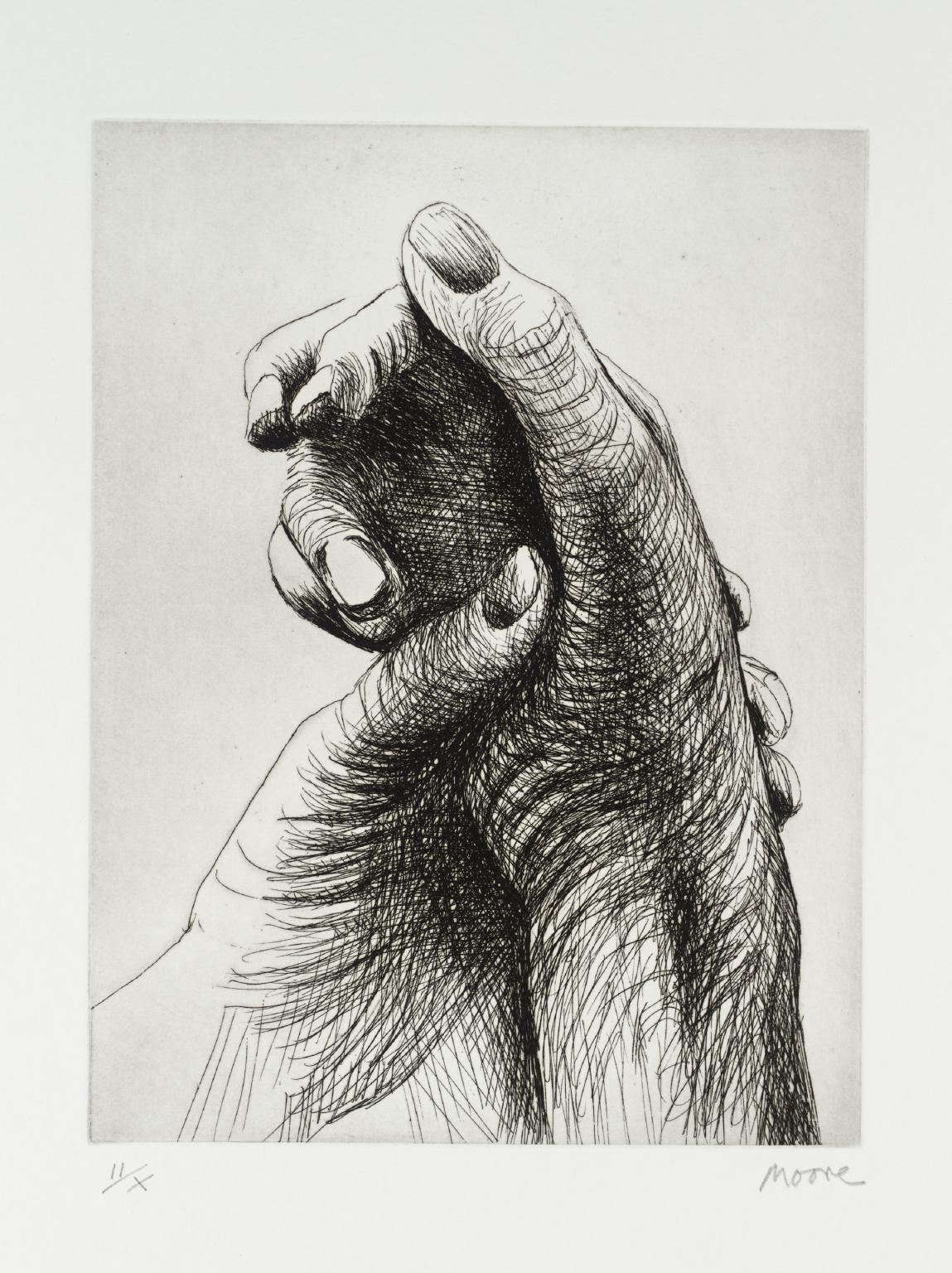 Henry Moore, The Artist's Hand IV, 1979