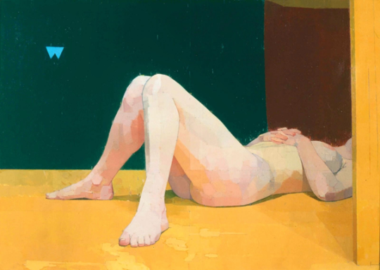 Euan Uglow, The Quarry Pignano, 1979.