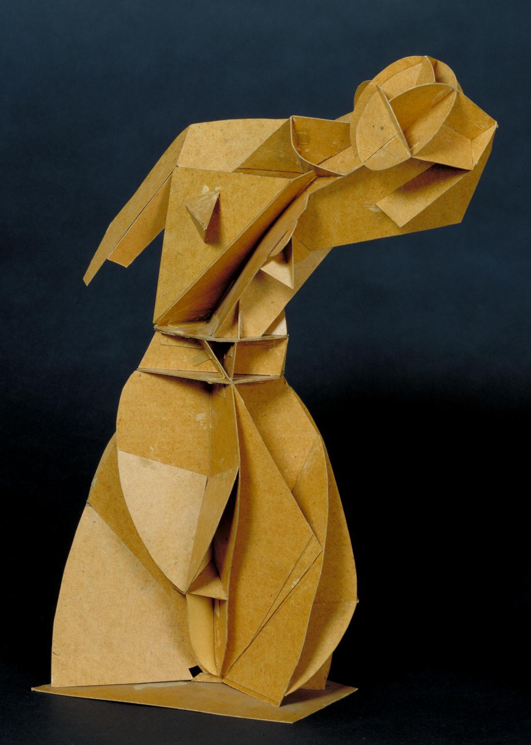 Naum Gabo, Model for 'Constructed Torso', 1917.