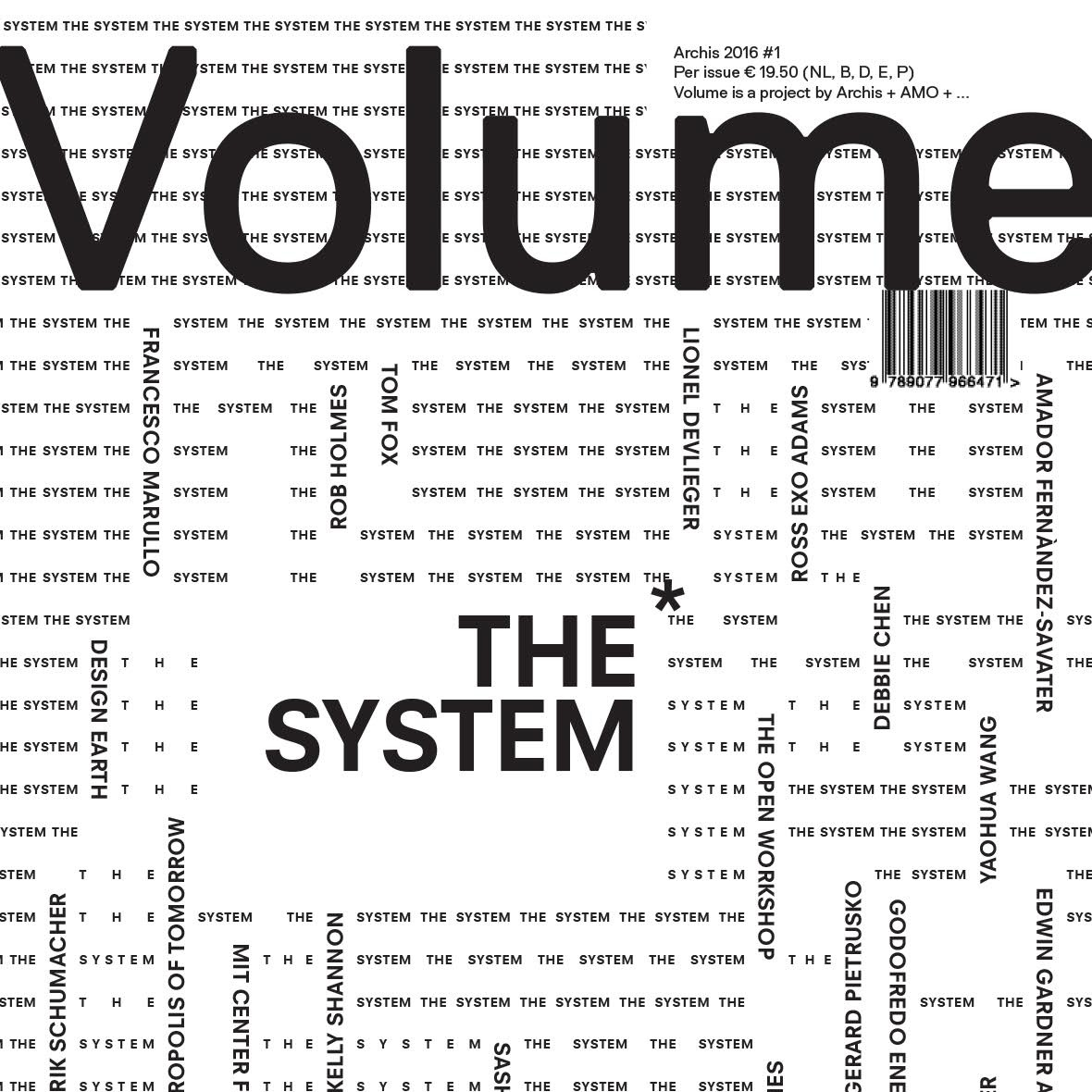 VOLUME: THE SYSTEM  Publication '16