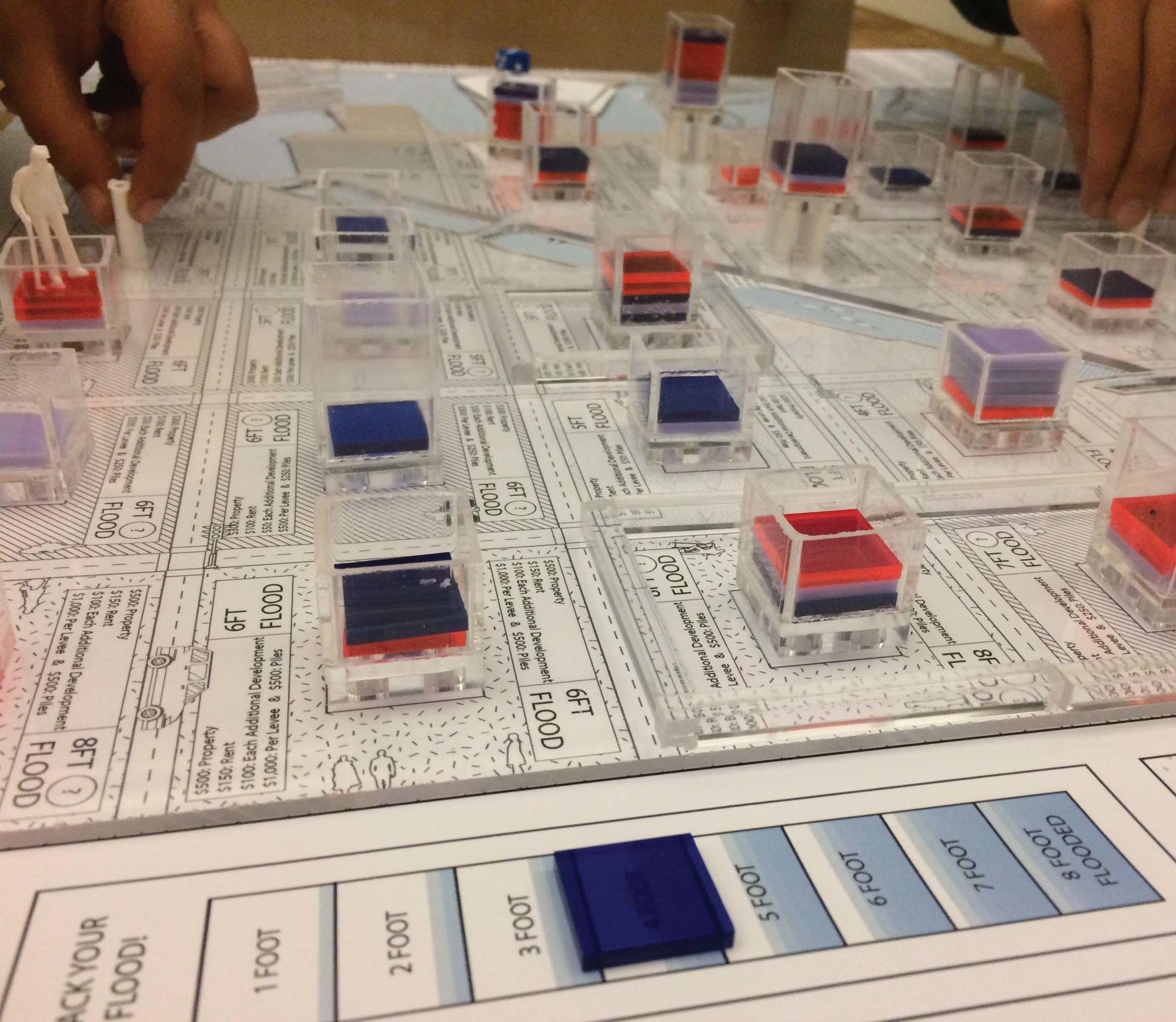 Mission Bay board game by Sarah Herlugson, Manasi Kshirsagar, Trenton Jewett, and Shailee Shah.