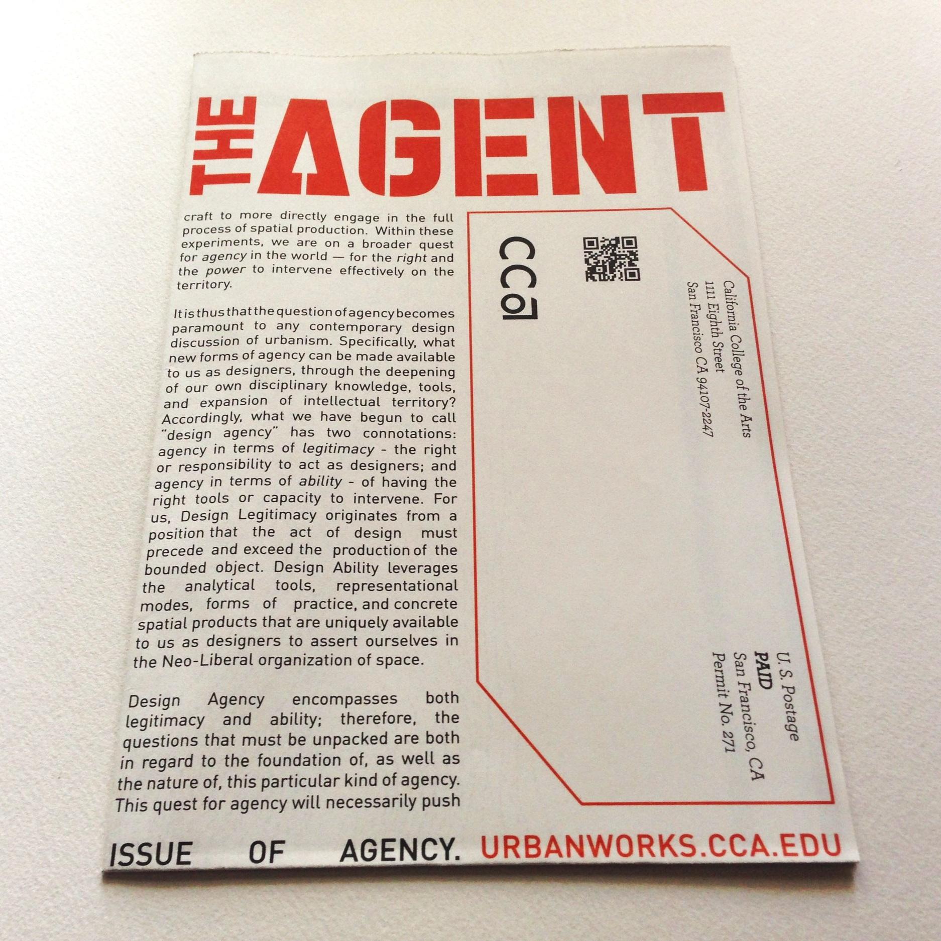 THE AGENT  Publication '14
