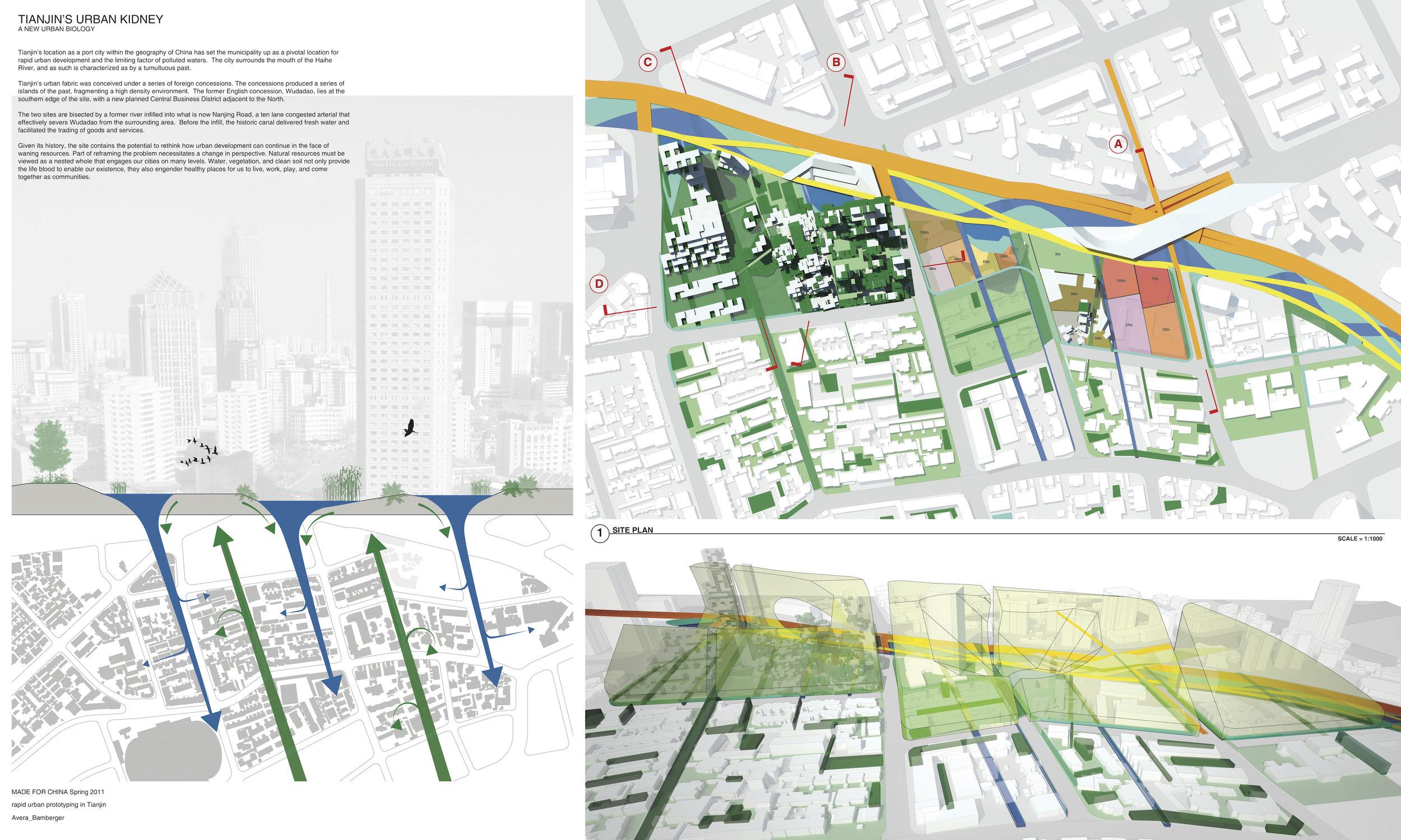 "Erin Avera, Jeremy Bamberger: ""Urban Biology"", design strategy"