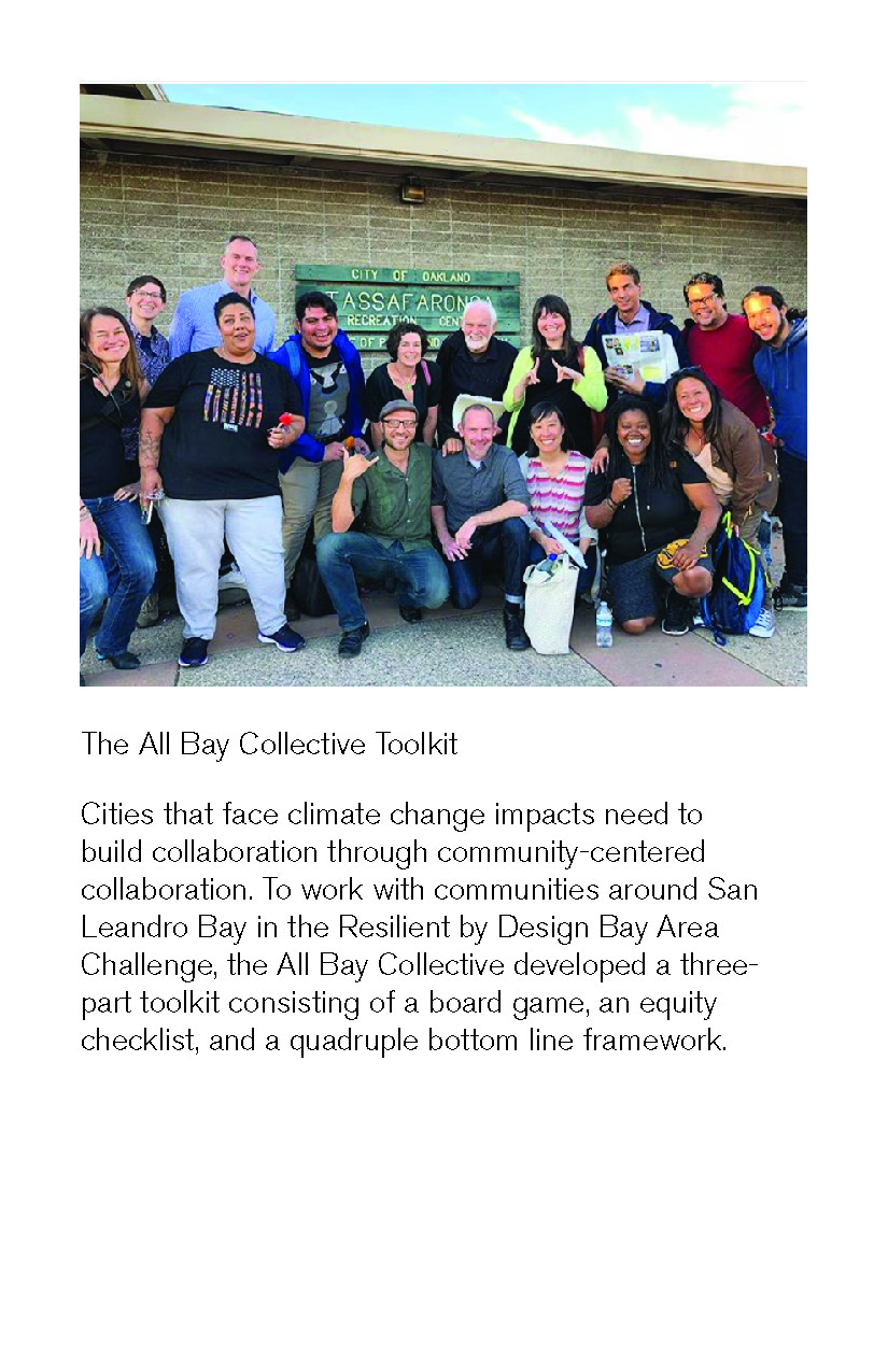All Bay Collective's Project Working Group network. Image: The All Bay Collective.