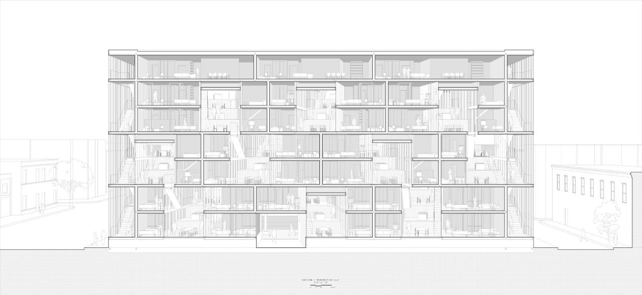 "Zizeng Wu: ""Urban Archipelago"", section"