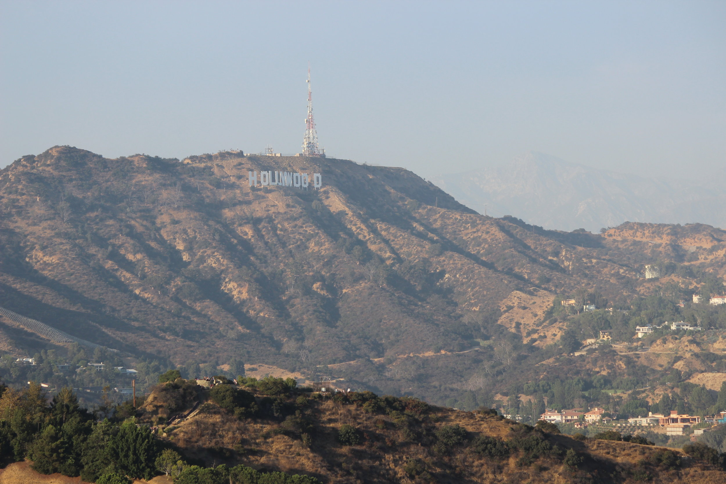 The evocative 'Hollywood' sign