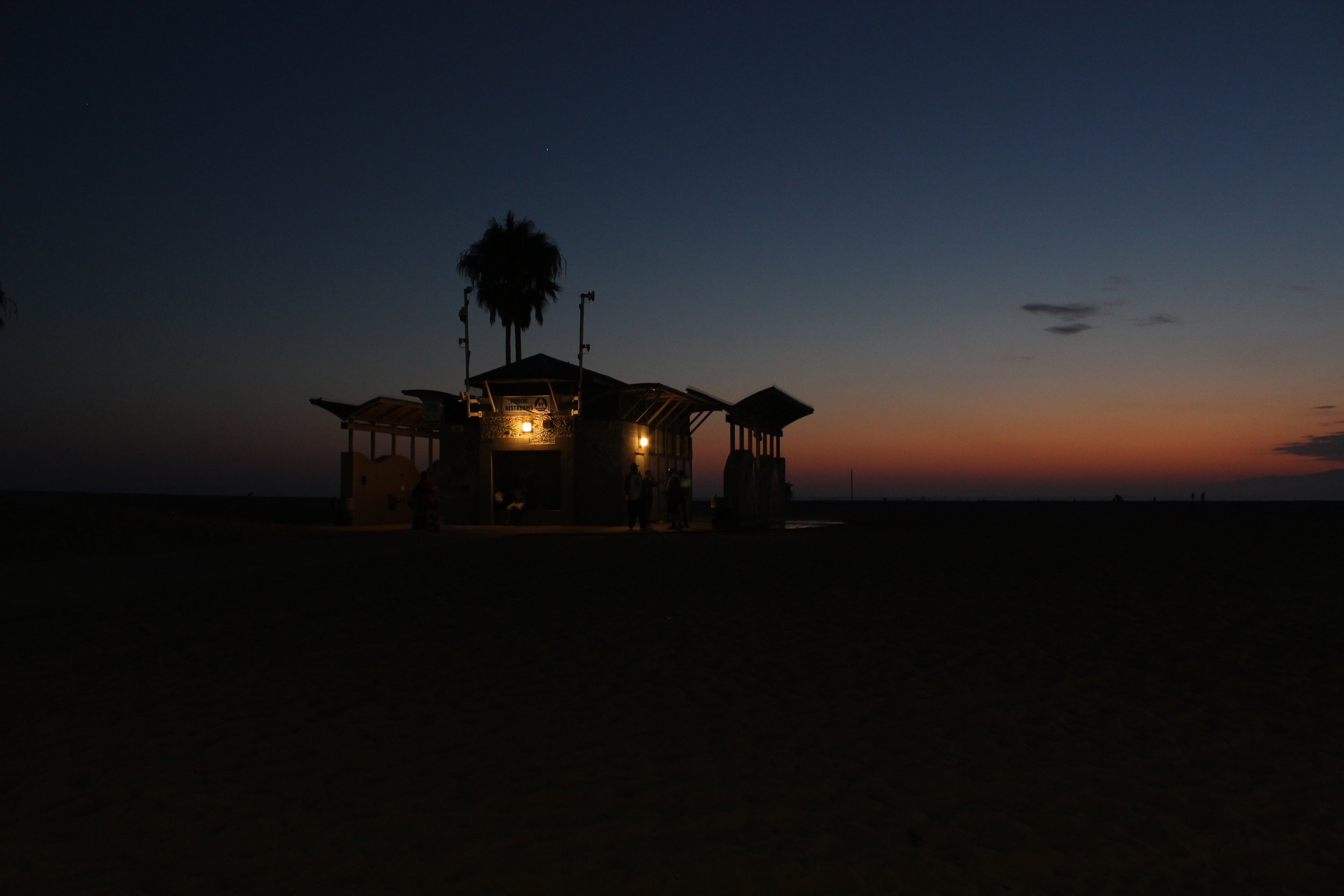 Sunset at Venice Beach, sheer bliss!