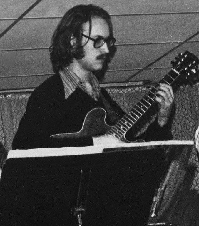 John Scofield playing with Gary, 1973