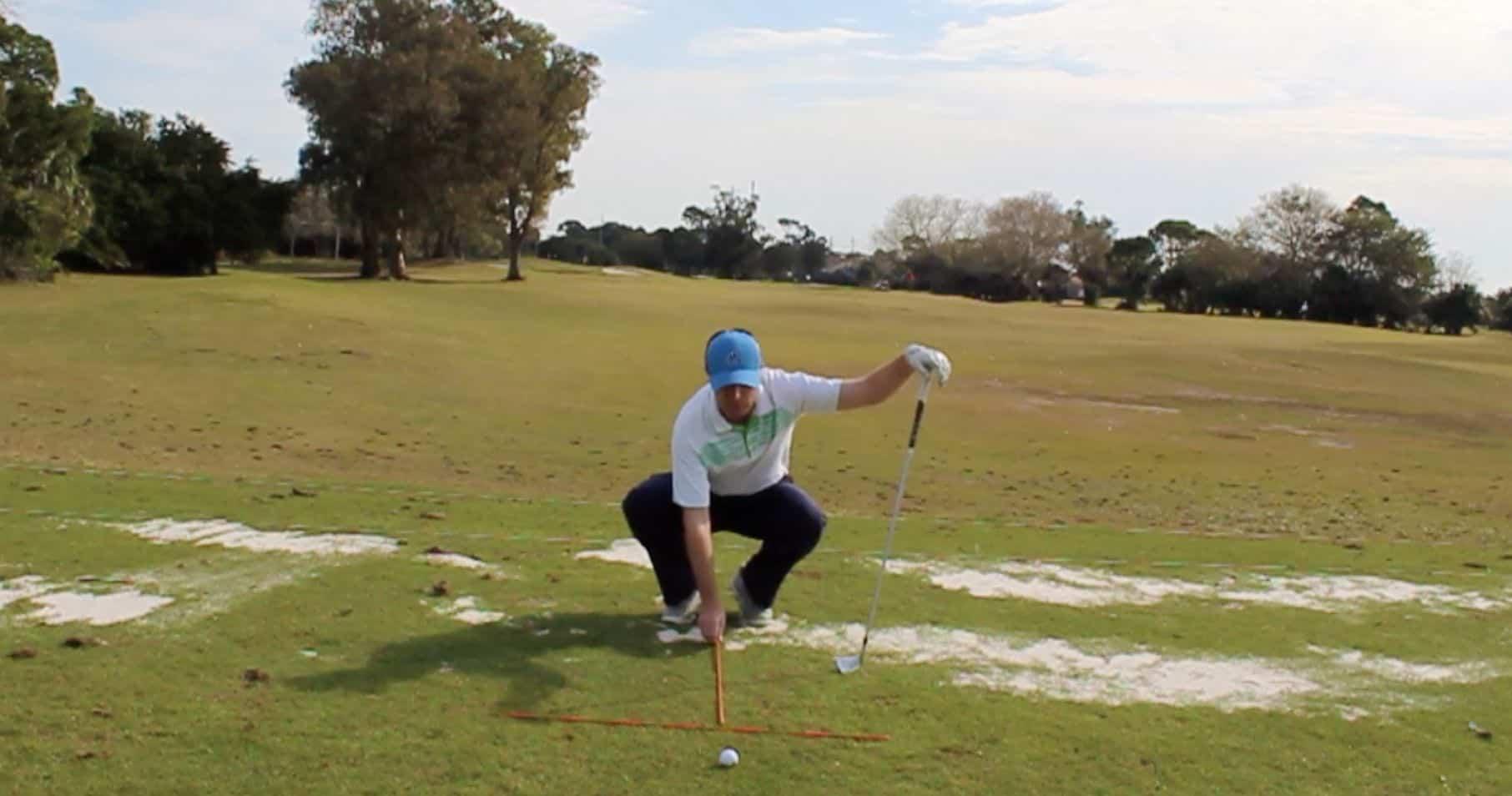 Iron Shot Ball Position
