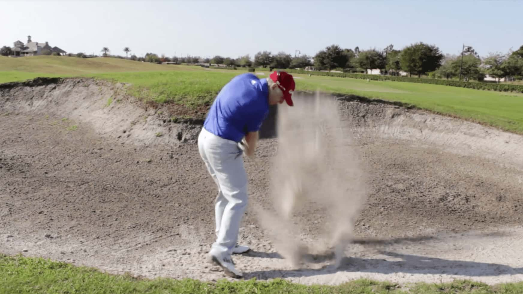Plugged Bunker Shot