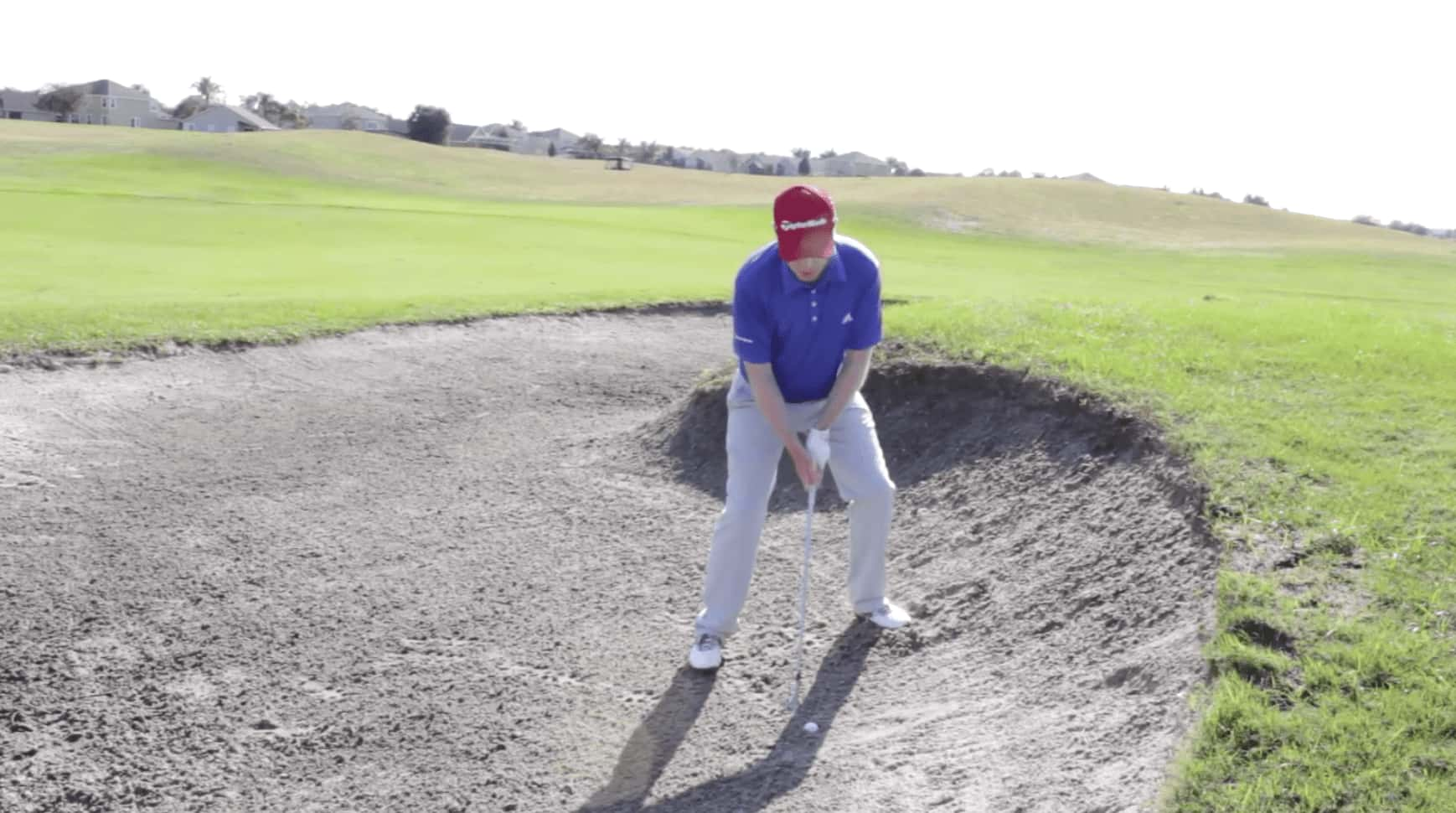 Plugged Bunker Shot - Stance