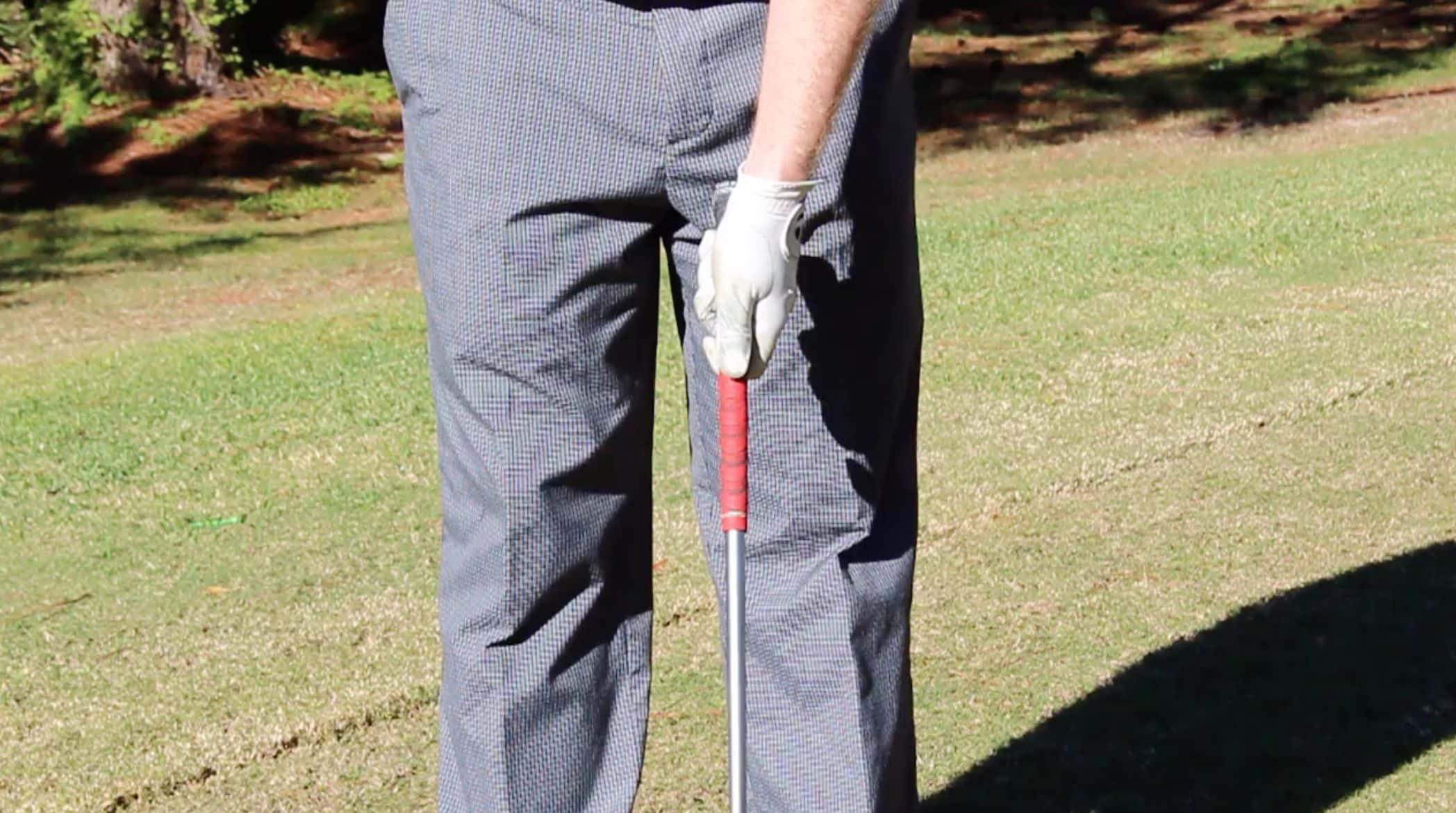 Weak Golf Grip