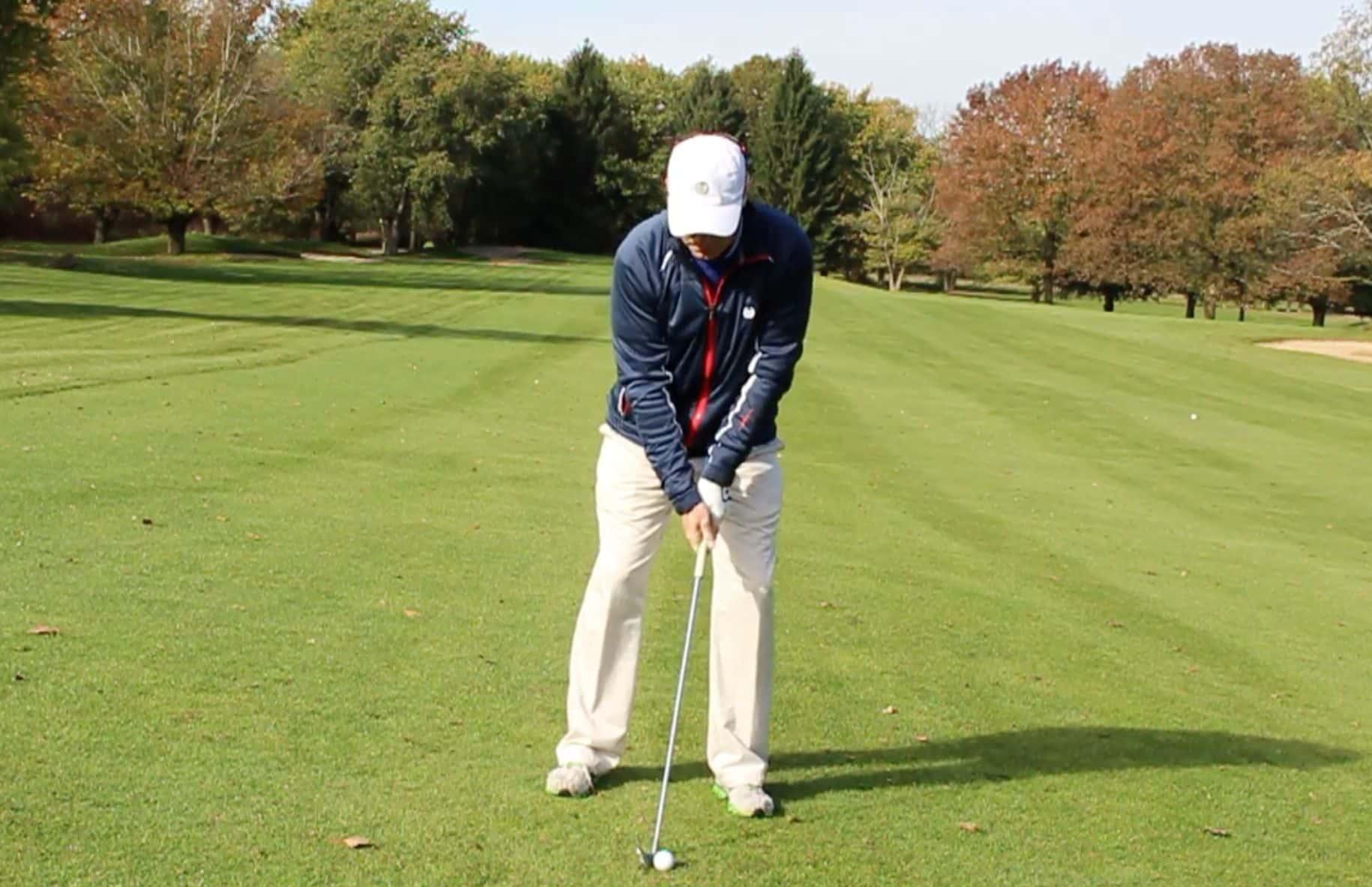 the correct ball position