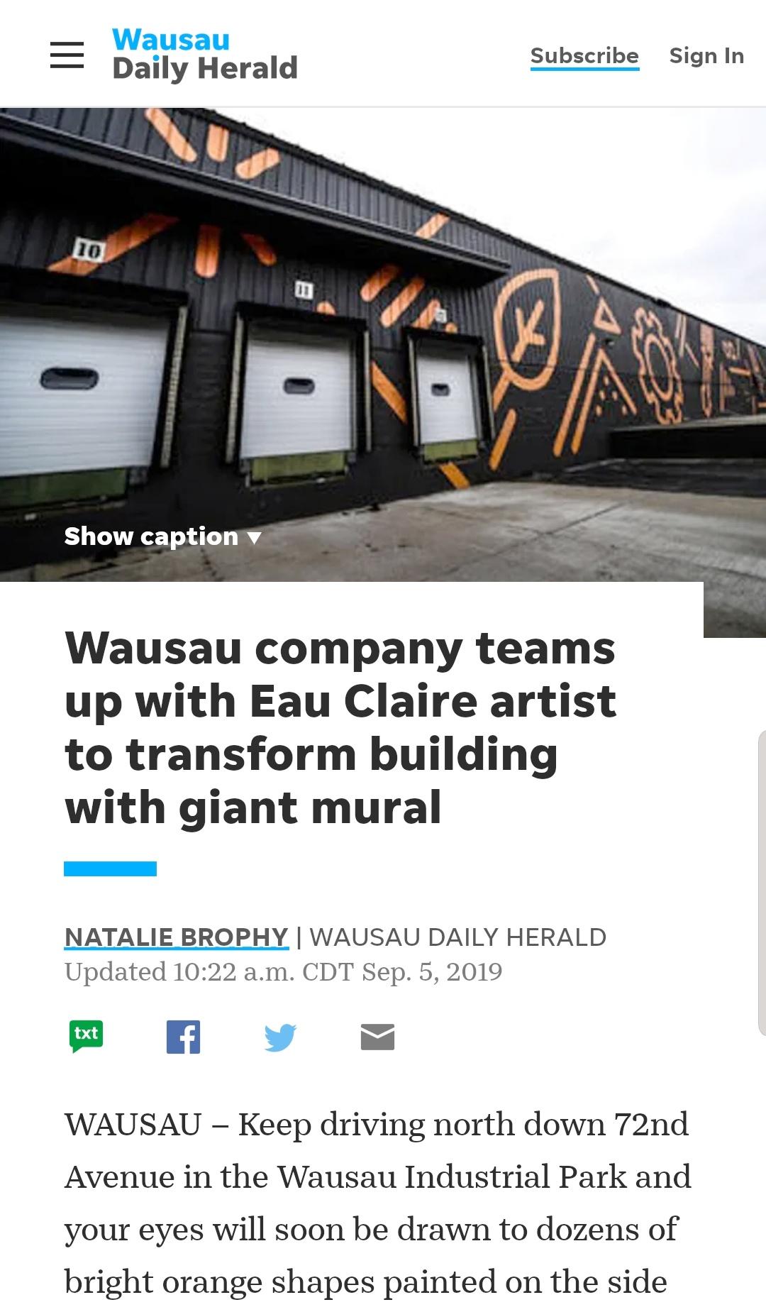 Rocket Mural, Wausau Daily Herald Article .jpeg