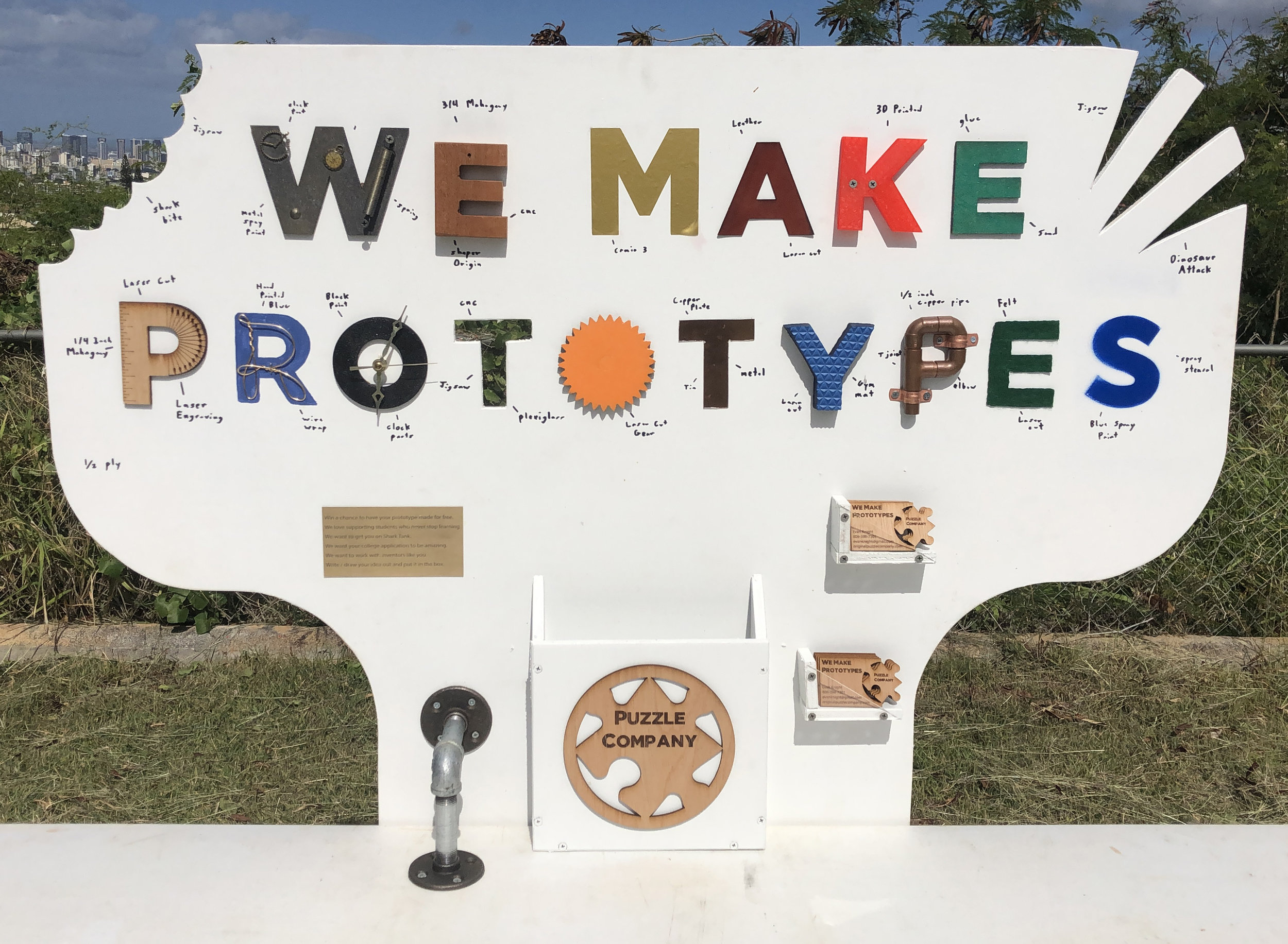 We Make Prototypes - Yes, we make prototypes. We make most anything. We pride ourselves on making the unusual. We love new inventions. We want to help you get on Shark Tank or maybe just recreate that long-forgotten object from our youth.