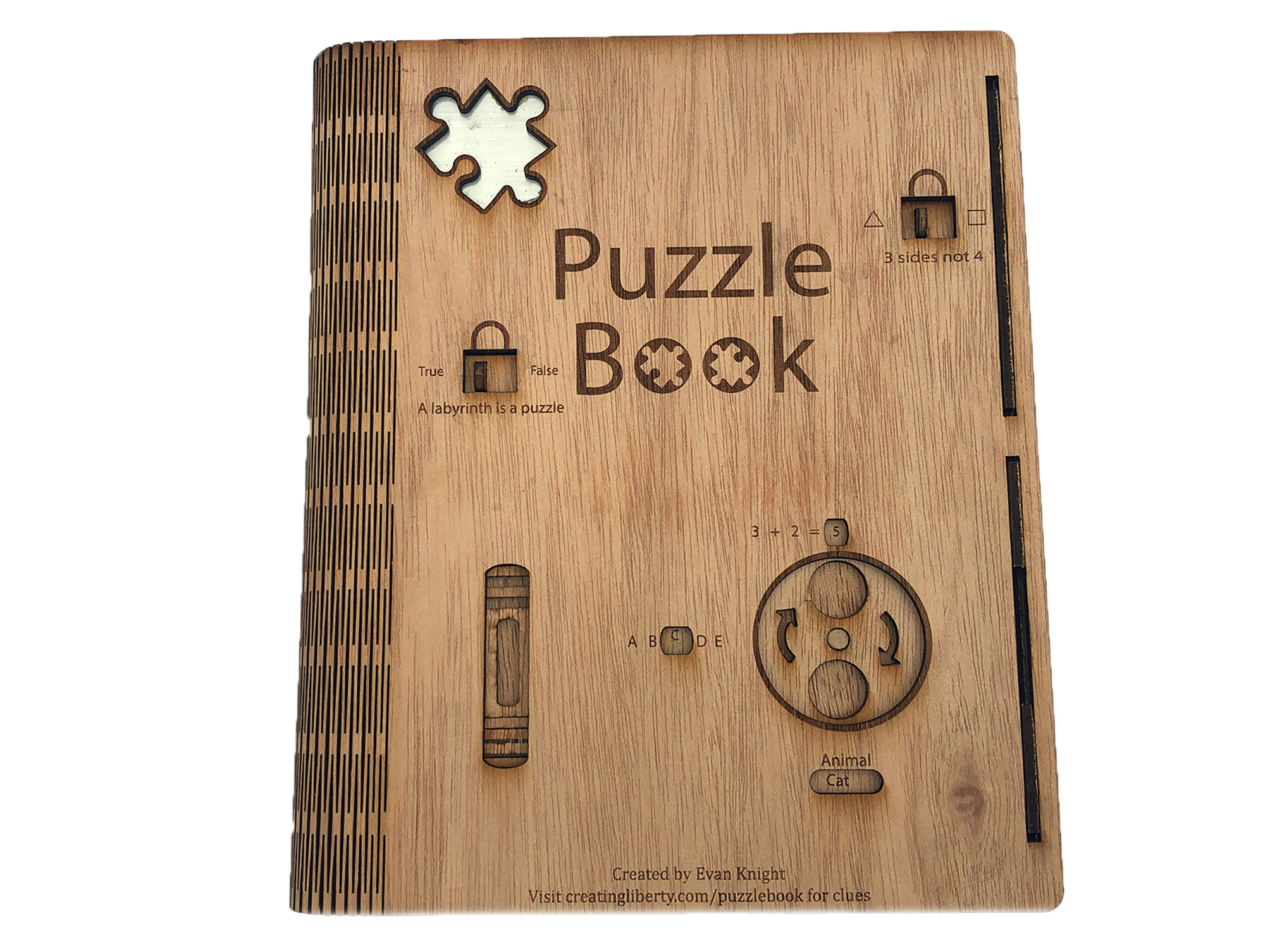 We Make Puzzle Books - Take a book and an escape room and cram them into one and you have got a Puzzle Book. Customizeable and amazing.
