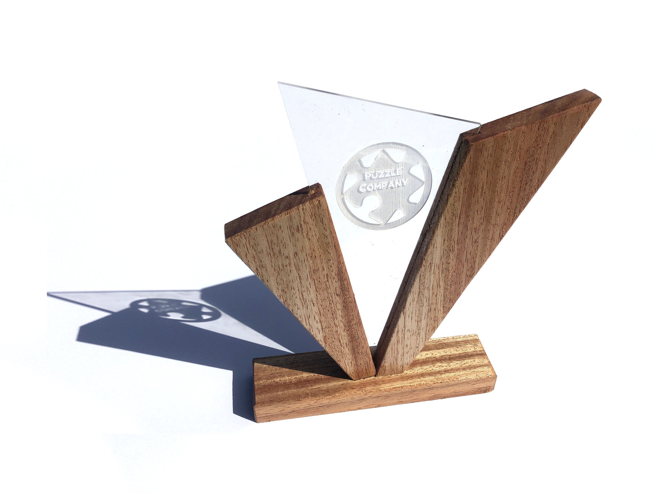 We Make Awards (DIY) (For Sale) - Because they deserve a unique, hand made, real wood award.