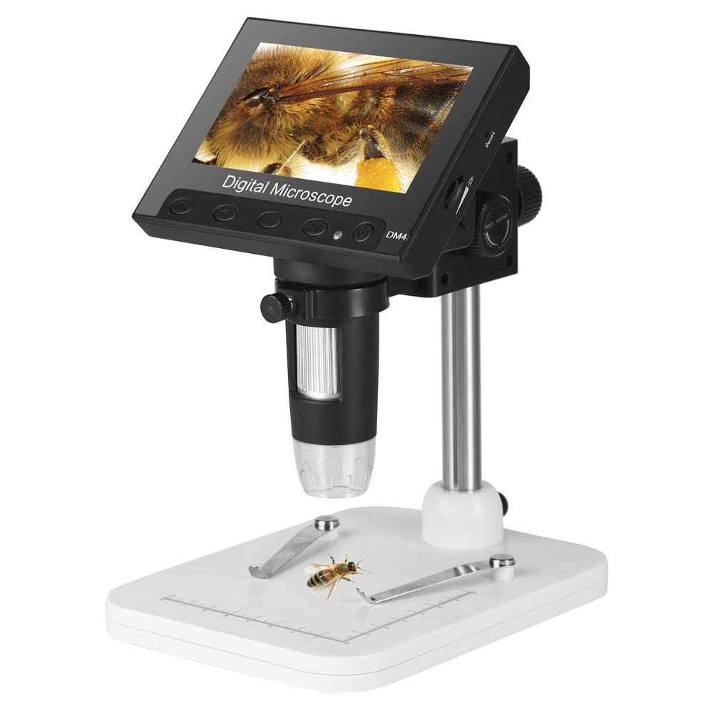Digital Microscope (DIY) - A digital Microscope is a simple camera that zooms in on what you are working on. It is connected to a monitor to show your project in great detail.