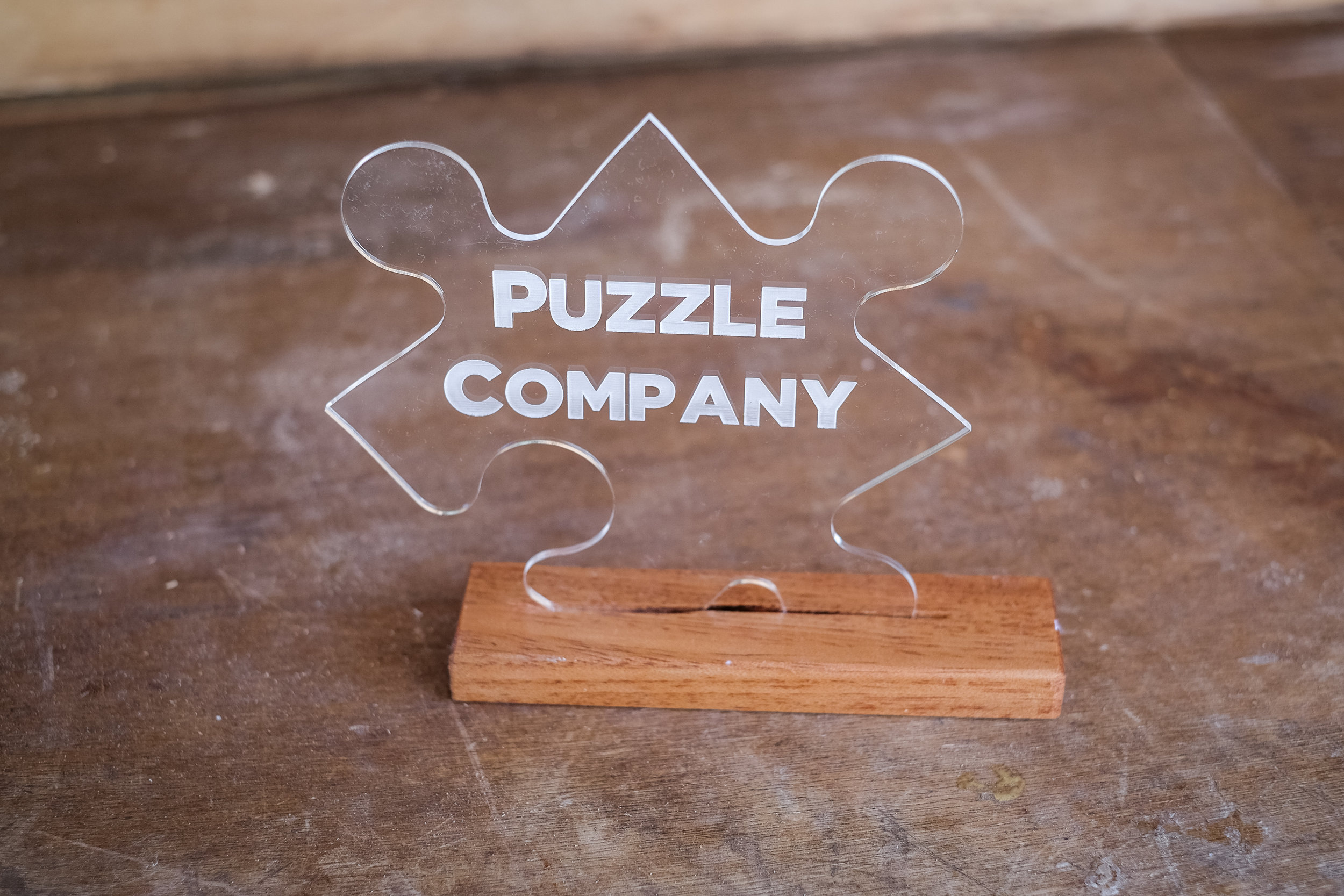 Puzzle Company's Creative Award  Photo credit: JPixel Photography -  Http://jpixelrealestate.com