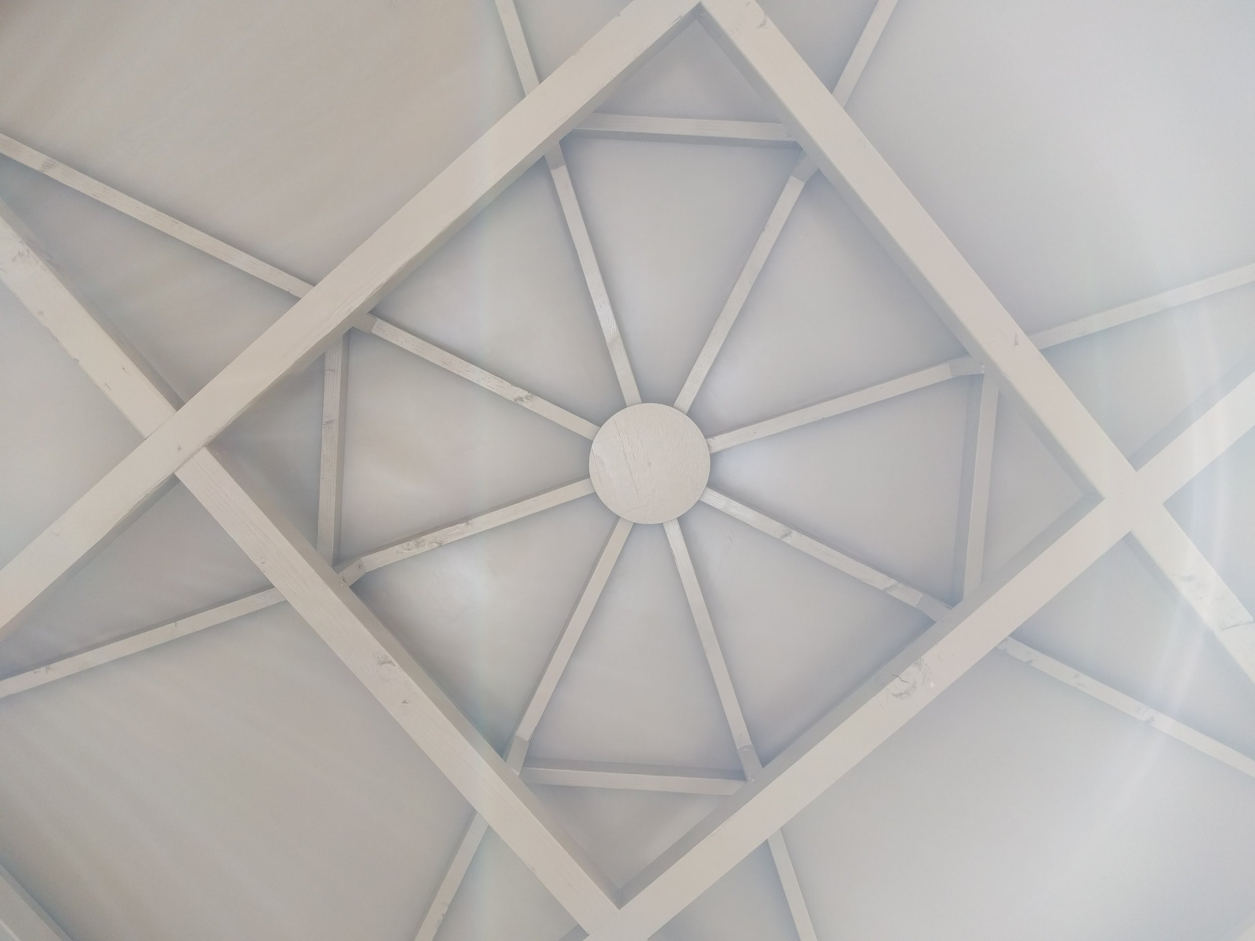 Ceiling of Gazebo