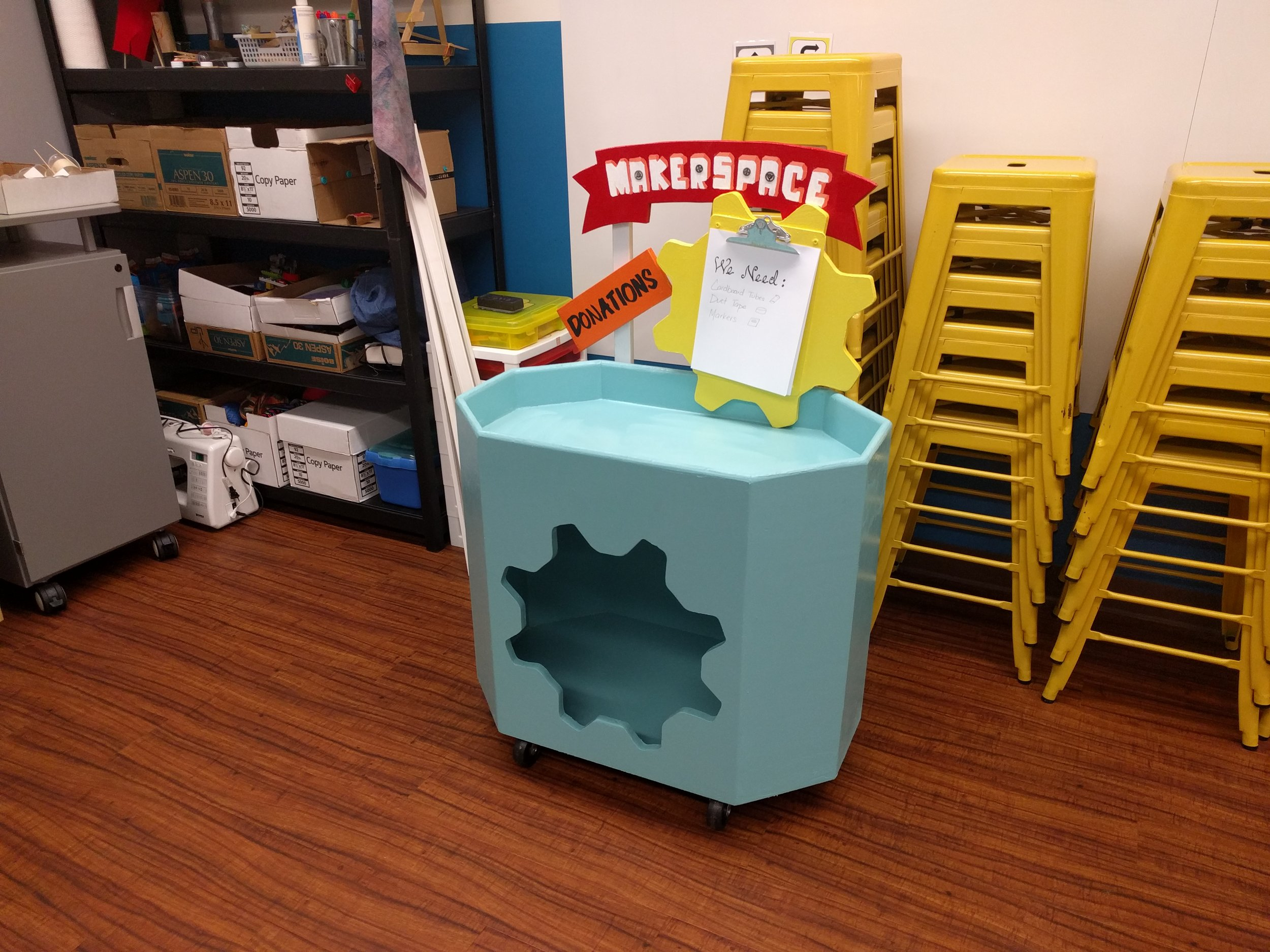 Donation Box for MakerSpace
