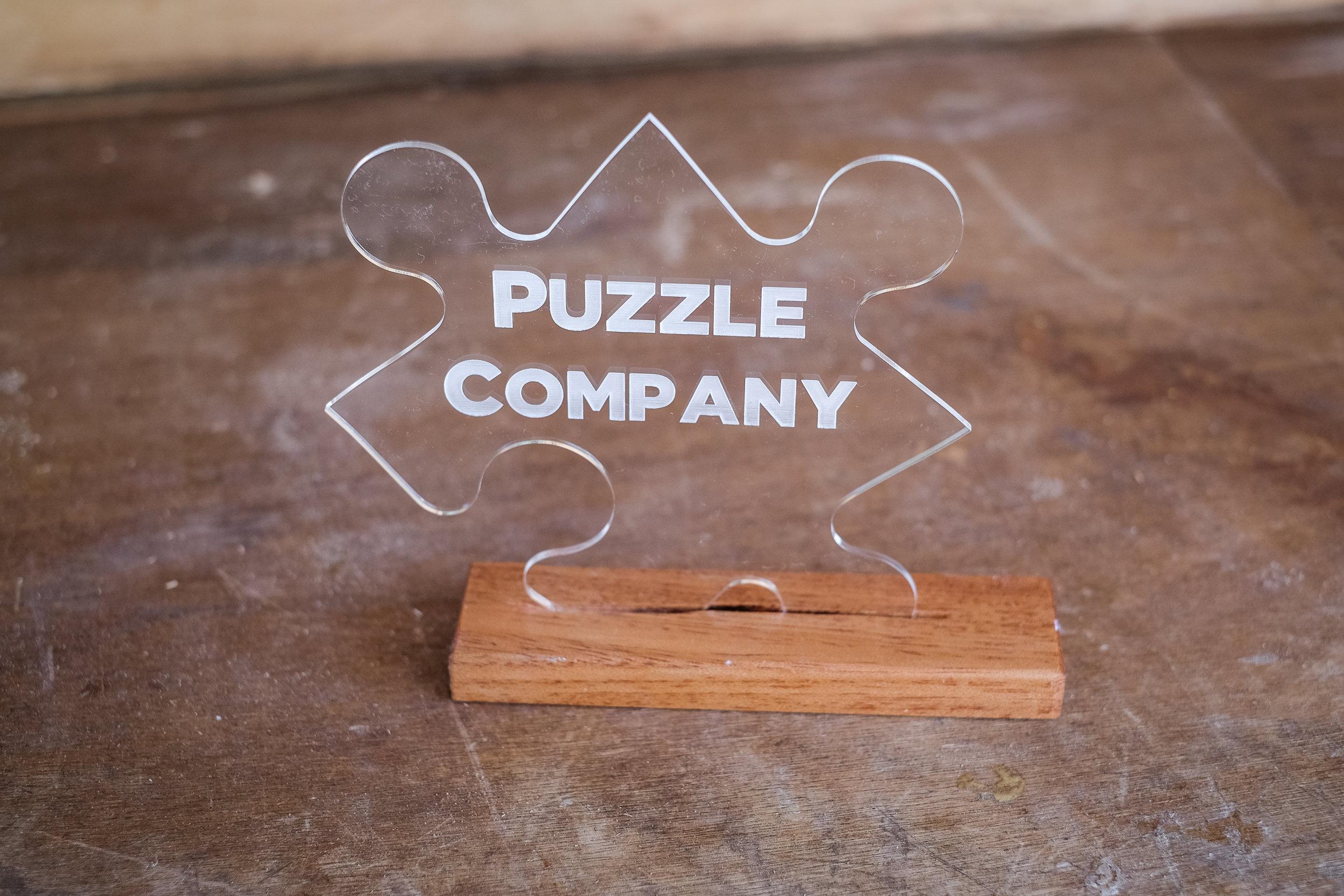 Puzzle Company Award