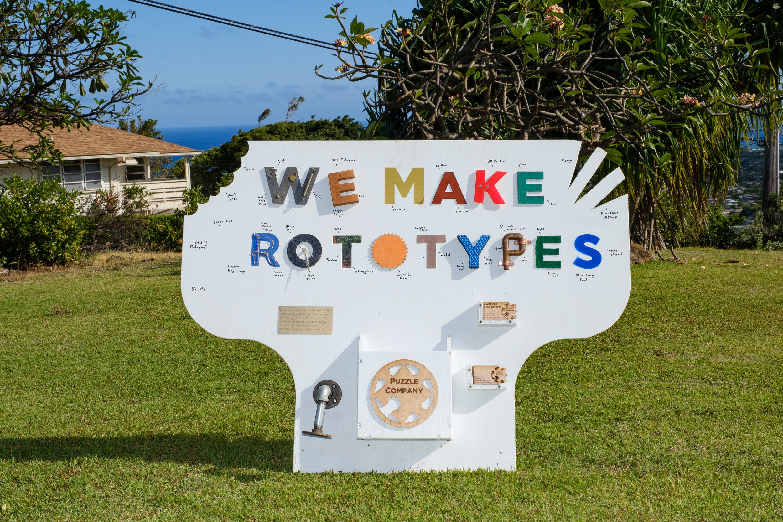We Make Prototypes Sign