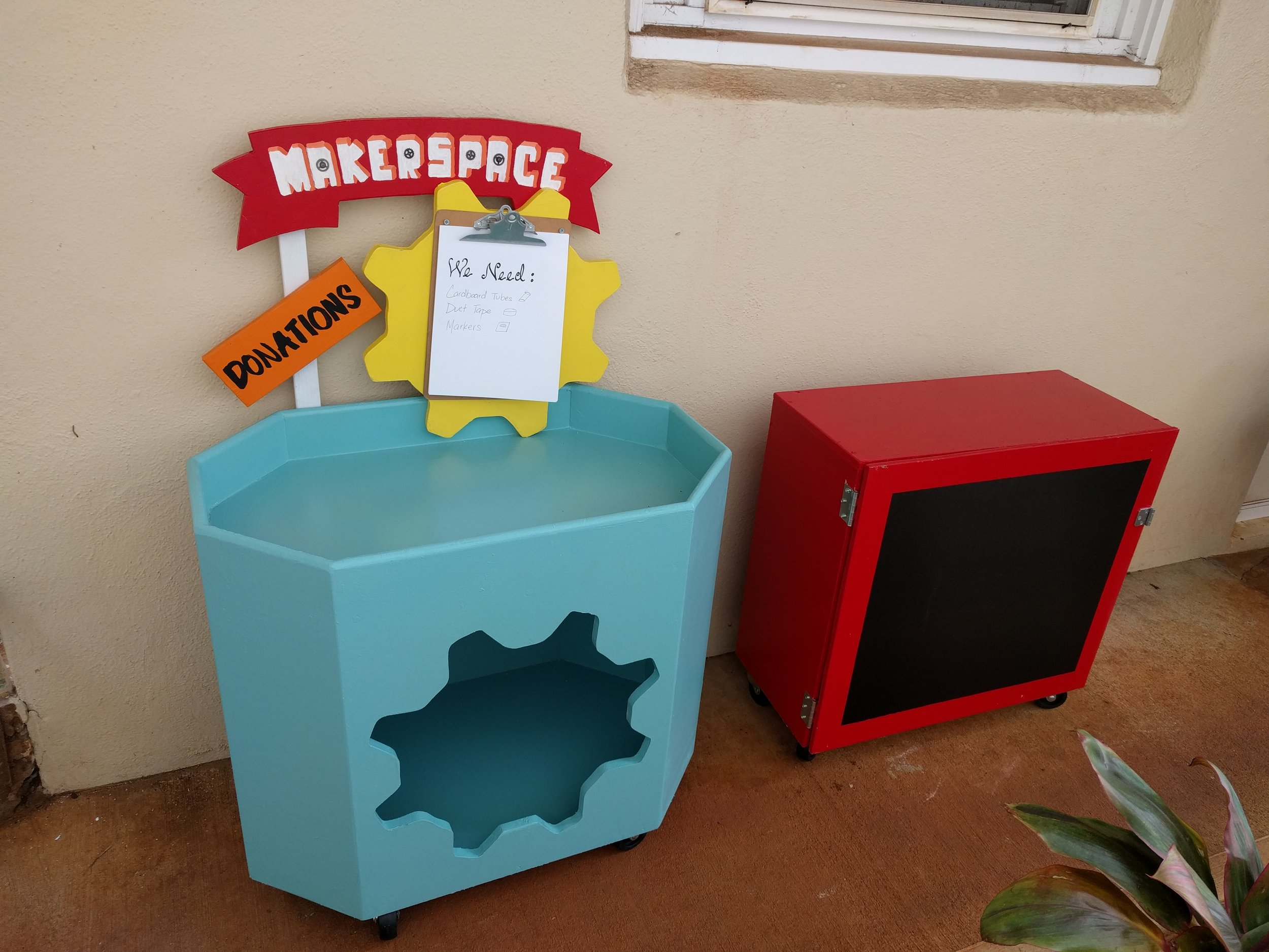Maker Space Donation Bin