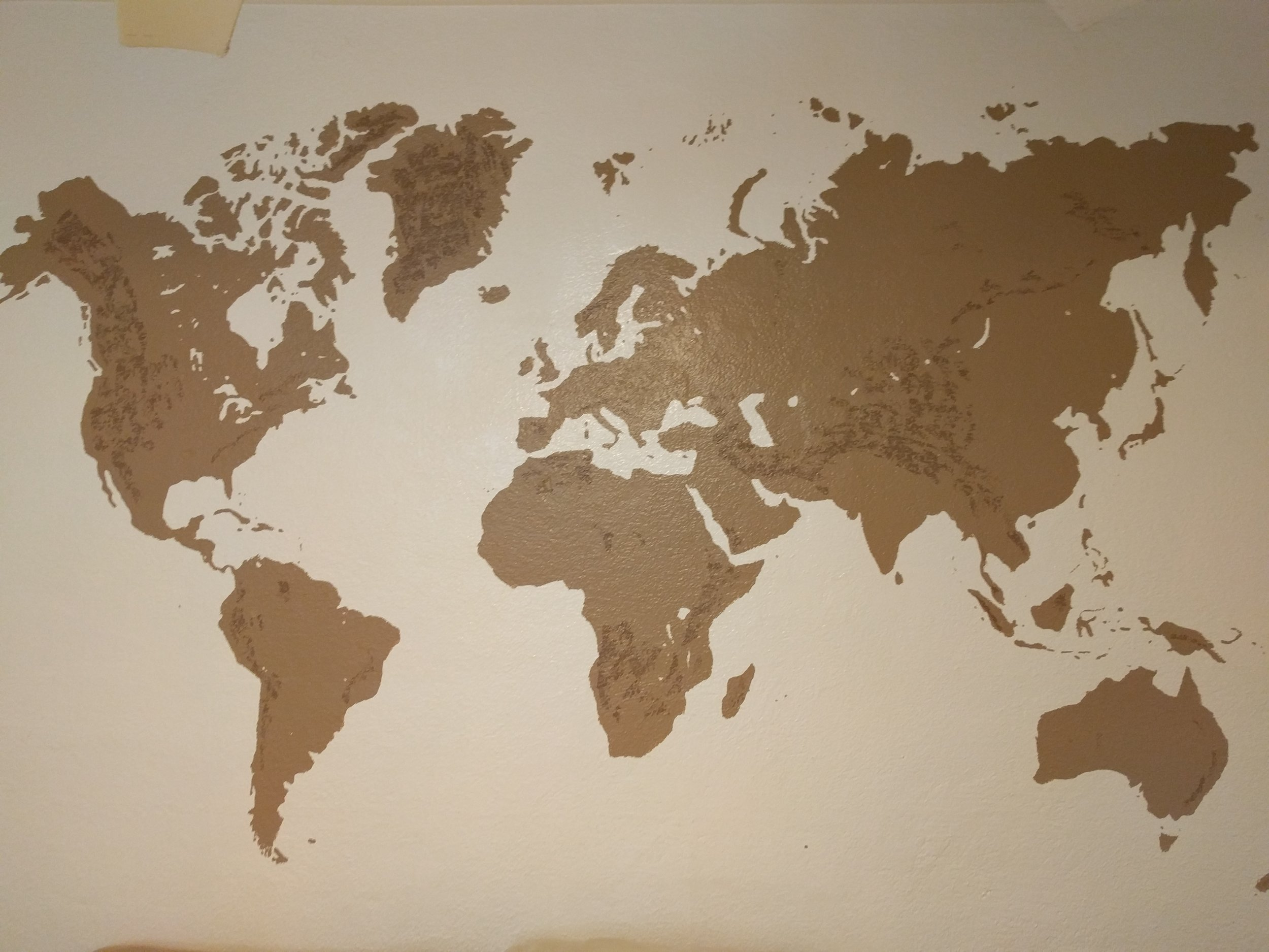 Mural World Earth