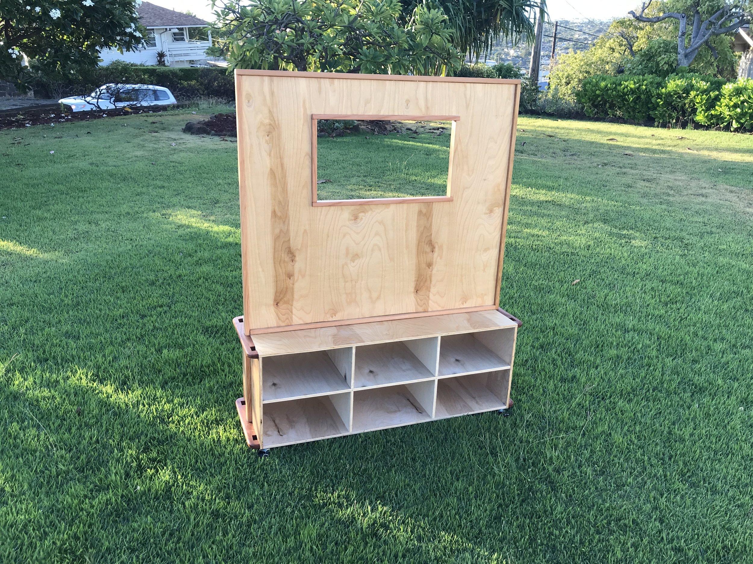 Puppet Show Box