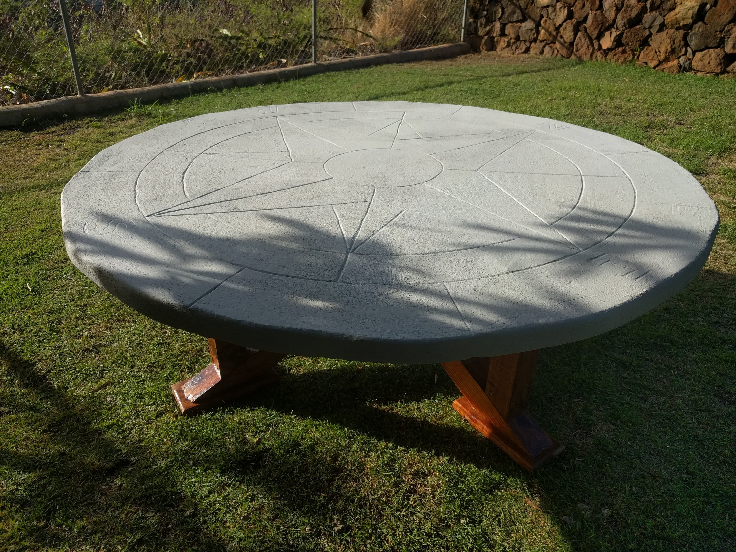 Cement Table DIY - How to build an 800 pound table