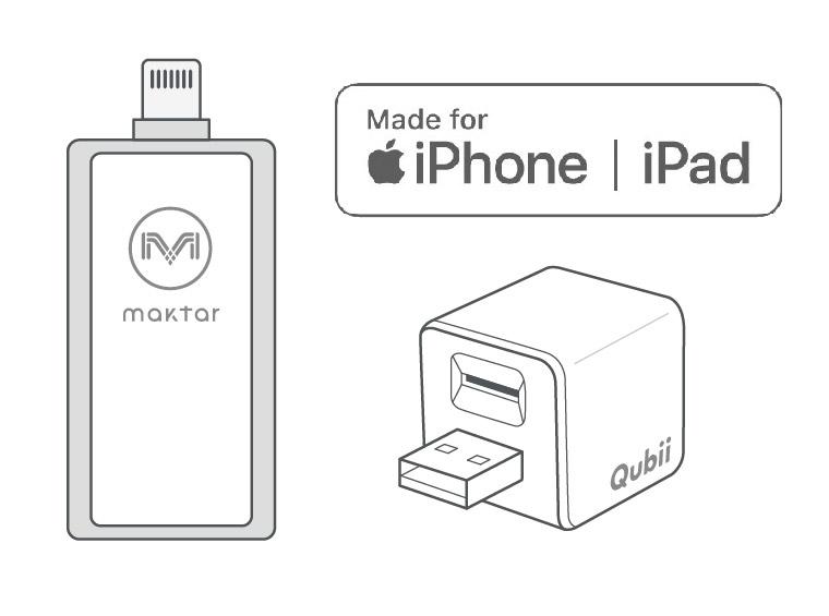 MFi認証で安心・高品質 - Maktarの商品は、厳しいApple社のライセンスをクリアした「MFi認証」プロダクト。iPhoneのOSがアップデートしても使用可能です。また、高品質で世界的な一流ブランドと同じ、台湾トップメーカーのパーツを採用しています。