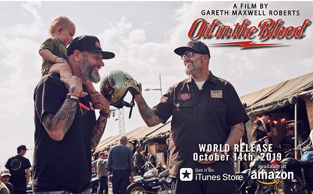 This thing is all about the friends you meet along the way director Gareth Roberts , his son Atticus and designer/builder Ola Stenegard at Wheels & Waves.