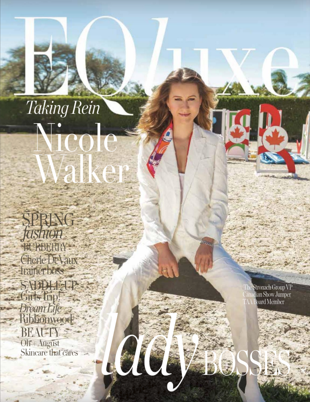 EQluxe Spring 2019 Cover, courtesy of EQluxe
