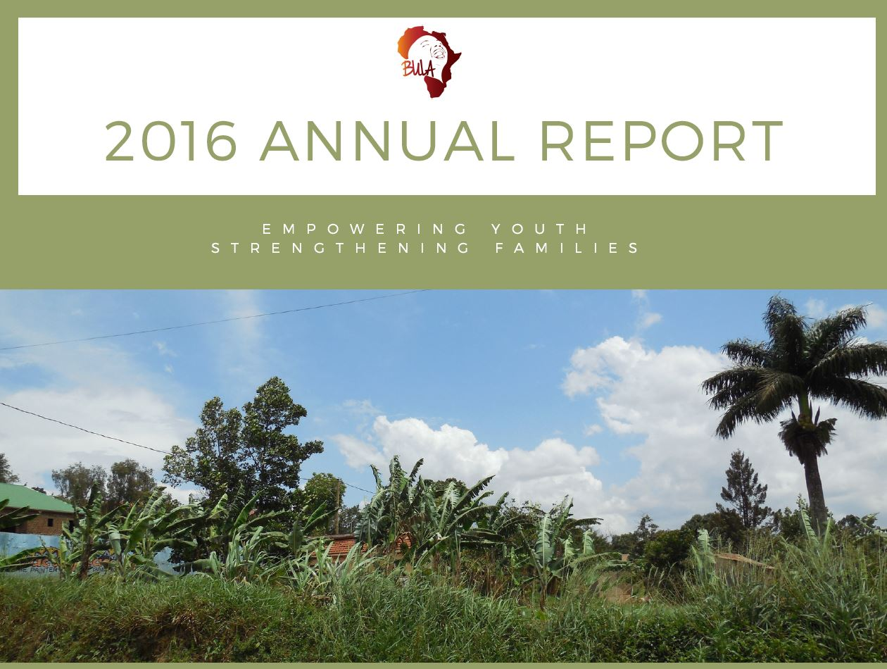 2016 Annual Report - Empowering Youth, Strengthening Families