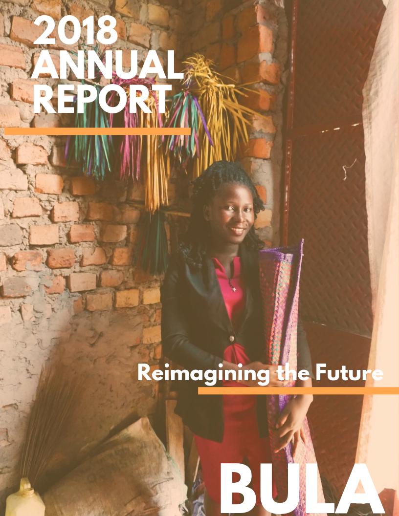 2018 Annual Report - Reimagining the Future