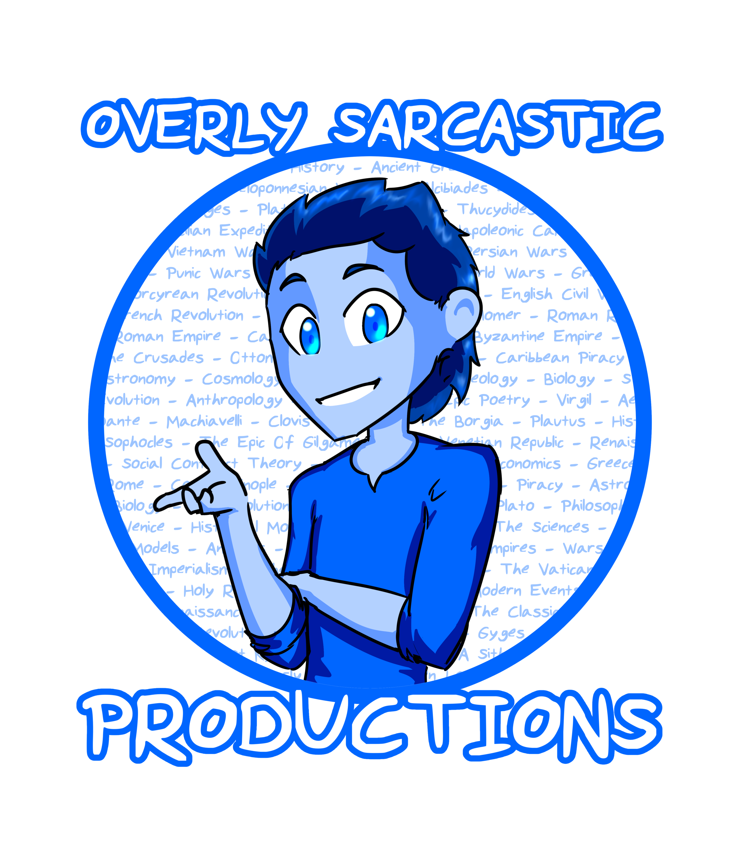 ABOUT BLUE - Blue is a baritone-voiced writer and amateur cartographer. He enjoys playing videogames, long walks through the park, anything vaguely Mediterranean, and complaining about television shows