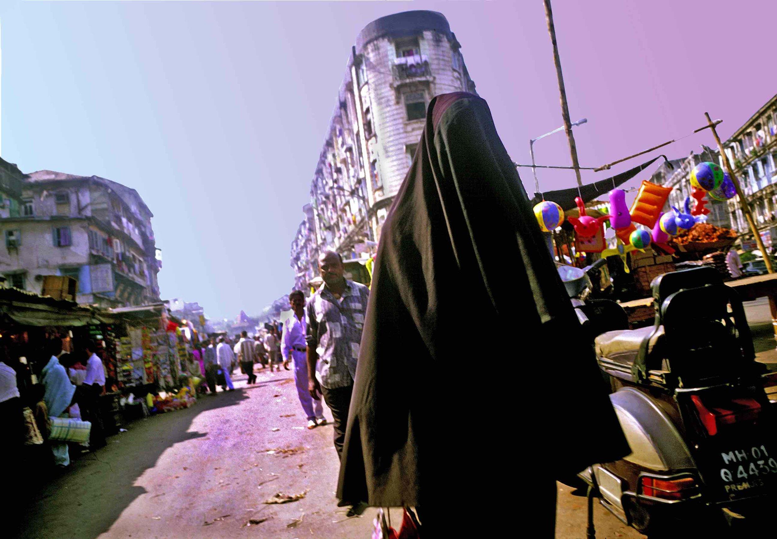 Muslim woman in India---.jpg