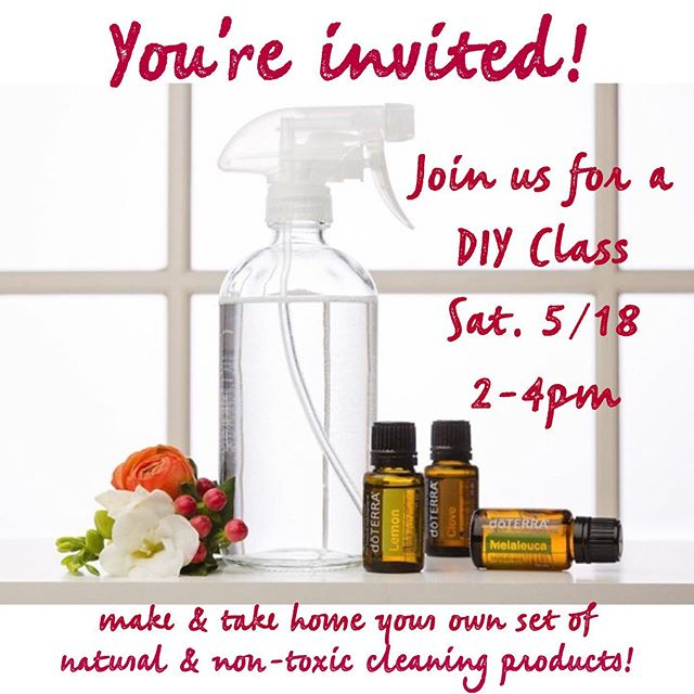 You're invited!✨ Join Gabrielle Anderson & Catie Eyer as they teach you all about making your own natural, non-toxic, safe and effective cleaning products using the power of plants to replace the chemicals and toxic products in your home! 🌿🌷🌼🌳🌺🍃🌻 You'll get hands on and have fun making your own set of 5 different products in beautiful glass bottles with labels to identify what you made and an ingredients list to remember how to refill and reuse your bottles in the future!  Plus, each guest will take home their own free gift, a little bottle of your choice of one of 5 essential oils for you to take home and add to your collection of powerful plant based allies. 🌿🌹 Most of us try to avoid putting toxins in our body, but what about the toxins we use in our home and around our pets and children? This class will show you how many natural, safe, & effective alternatives are available to you. 🌷🌼 Date & Time: Saturday May 18th from 2-4pm 🌻🌺 Location: The Zegen Building, Suite #102 (1524 W. Hays St., Boise, 83702) 🌿🌸 The class itself is free to attend but there is a fee to cover materials and supplies. Sign up with a friend and get a discount! Space is limited so DM or email nurtureandmend@gmail.com to reserve your spot and let us know you'll be joining us, we can't wait to see you there!☺️ (If you'd like to attend but the date/time doesn't work for you, please let us know as we may do more classes in the future! And if you'd like a set of products but can't attend, you can pay the supplies fee and we'll make a set for you to pick up at your convenience!)🤗🌸 • • • • • #naturalhealth #healthandwellness #holistichome #naturalcleaningproducts #nontoxiccleaning #nontoxichome #essentialoils #powerofplants #doterracleaning #DIY #DIYclass #DIYcleaningclass #DIYcleaningproducts #naturalcleaningproducts #boiseDIYclass #doterraboise #boiseevents