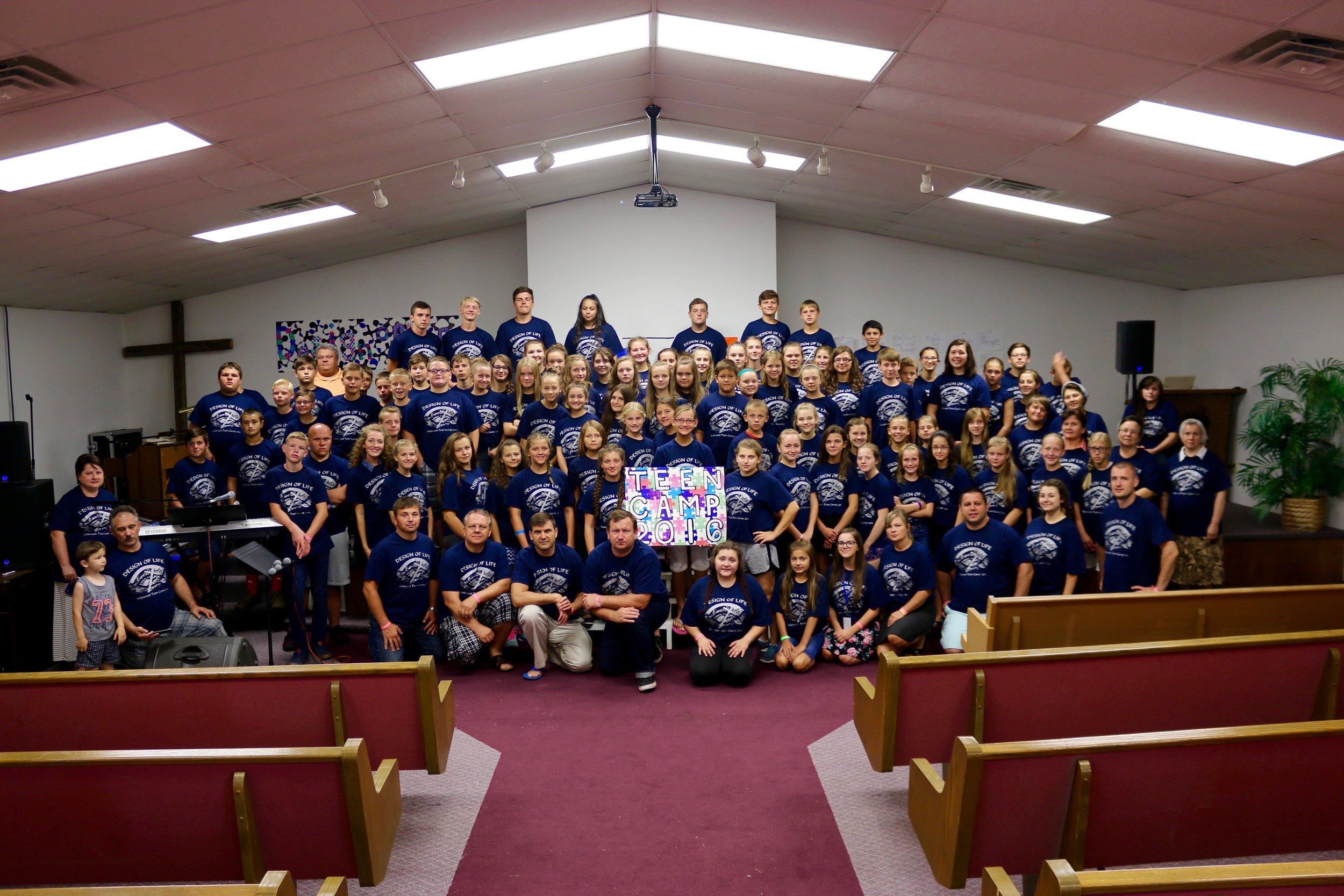 Teen Camp 2016