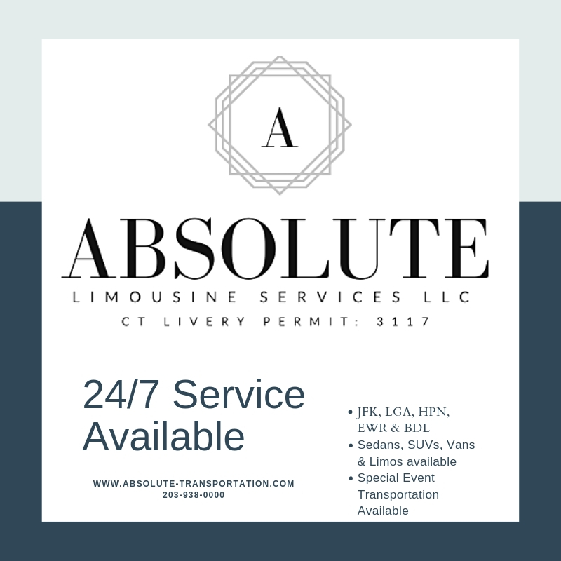 Limousine car service offerings in Connecticut